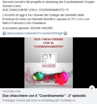 DUE CHIACCHIERE CON IL COORDINAMENTO 2° episodio https://bit.ly/2AIi8dQ